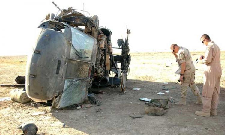 مقتل 11 جنديًا أمريكيًا فى تحطم مروحية عسكرية