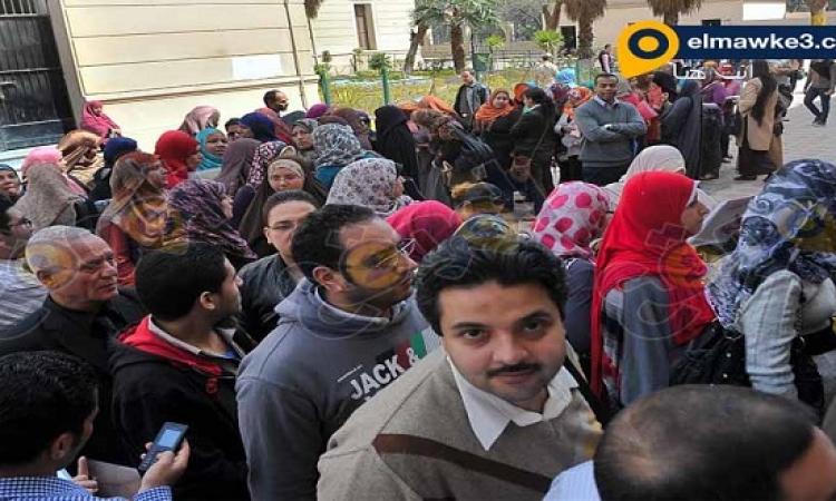 الموقع نيوز ينشر صور مظاهرة معلمو مدرسة السعيدية