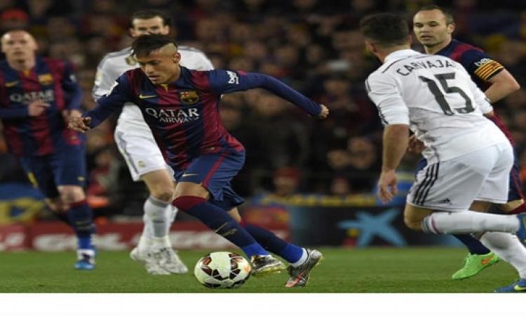 برشلونة تفوز على ريال المدريد 2-1 فى الدورى الاسبانى