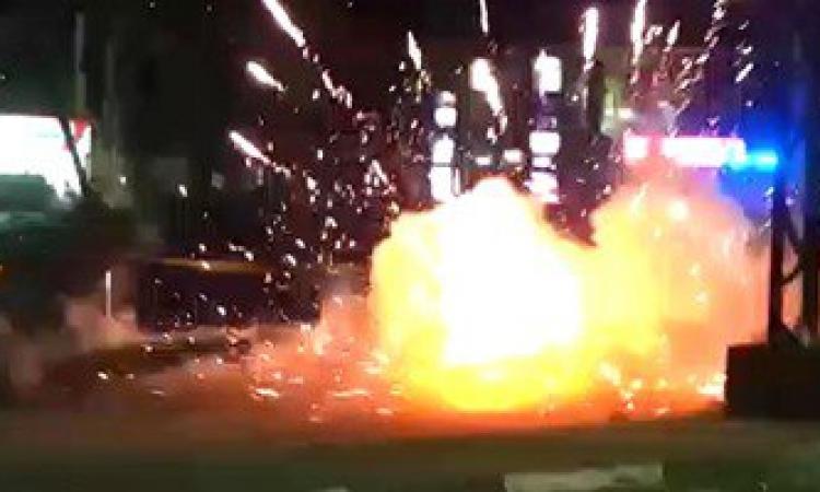 انفجار عبوة ناسفة وضعها مجهولون أسفل سيارة طليقة ضابط شرطة بالفيوم