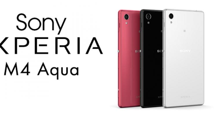 سونى تعلن عن هاتف Xperia M4 Aqua