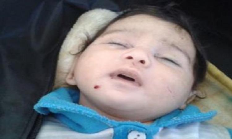 أب مجرم يقتل ابنته الرضيعة بطريقة بشعة والسبب وفاة والدتها