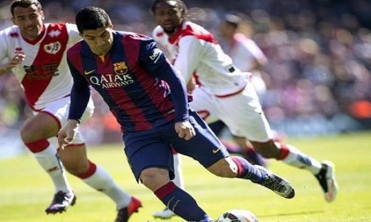 برشلونة يفوز على فاليكانو بسداسية ويخطف صدارة الليجا