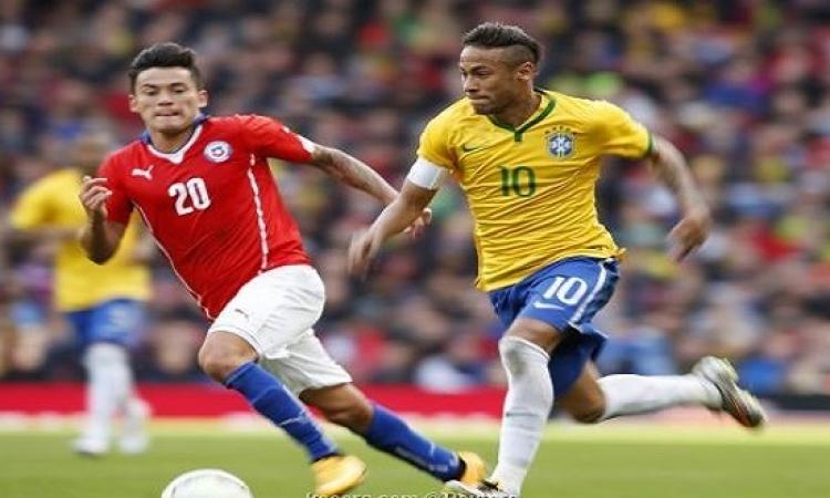 بالفيديو.. البرازيل تهزم تشيلى بهدف رائع فى ملعب الإمارات