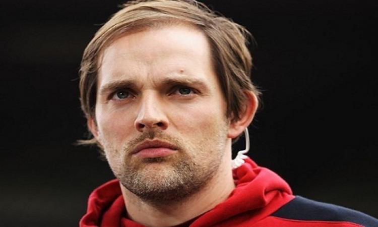 بالصورة .. مدرب فريق ماينز الألمانى يتحرش بالمتحدث الرسمى للنادى