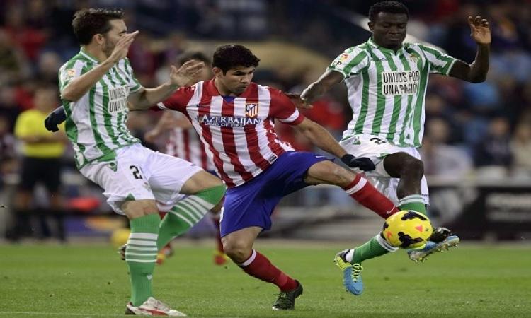 أتليتكو مدريد يواجه فياريال بالليجا فى الدورى الاسبانى