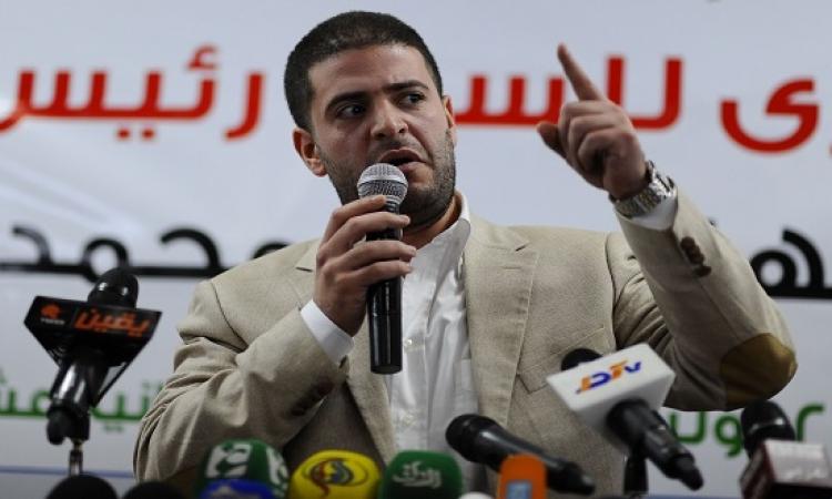 """نجل مرسى يسخر من الحكم على والده فى """"أحداث الاتحادية"""""""