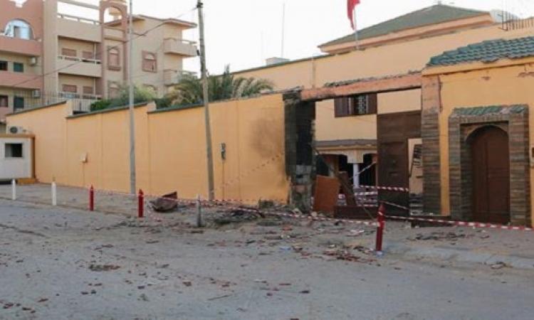 تفجير يستهدف السفارة الاسبانية بطرابلس .. وداعش ليبيا يتبنى المسئولية