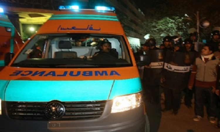 استشهاد عقيد شرطة وسائقه بعد هجوم مسلحين عليهما بالزيتون