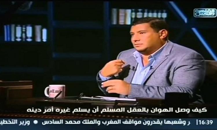 بالفيديوهات.. مشادة كلامية بين إسلام البحيرى وعضو هيئة كبار العلماء بالأزهر