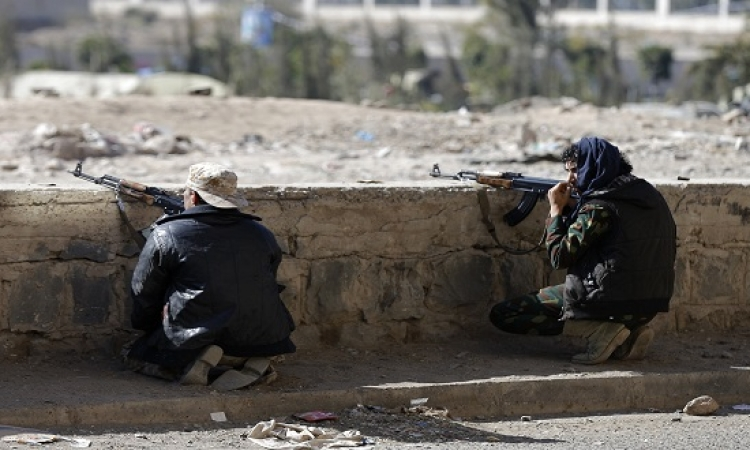 صنعاء تشهد اشتباكات نارية بين الحوثيين وانصار صالح