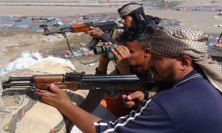 27 قتيلًا فى مواجهات بين الحوثيين وأنصار هادى جنوب اليمن