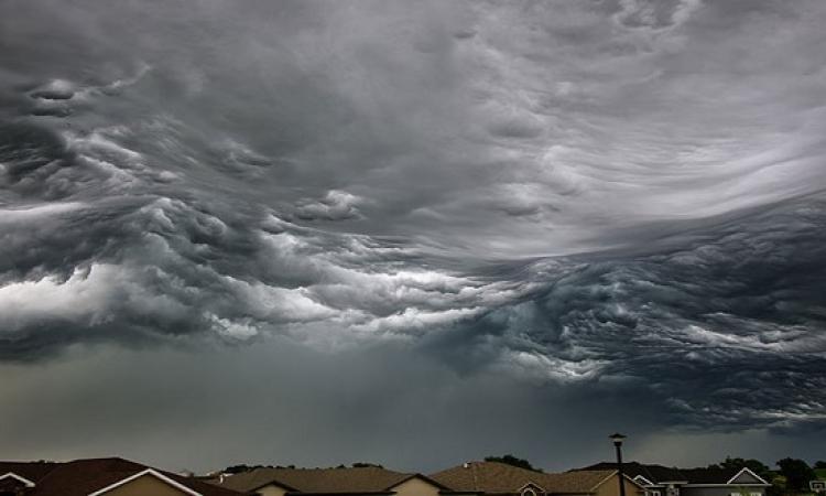 اشكال مذهلة للسحب والغيوم ولا أجمل لوحات مرسومة .. سبحان الله!!