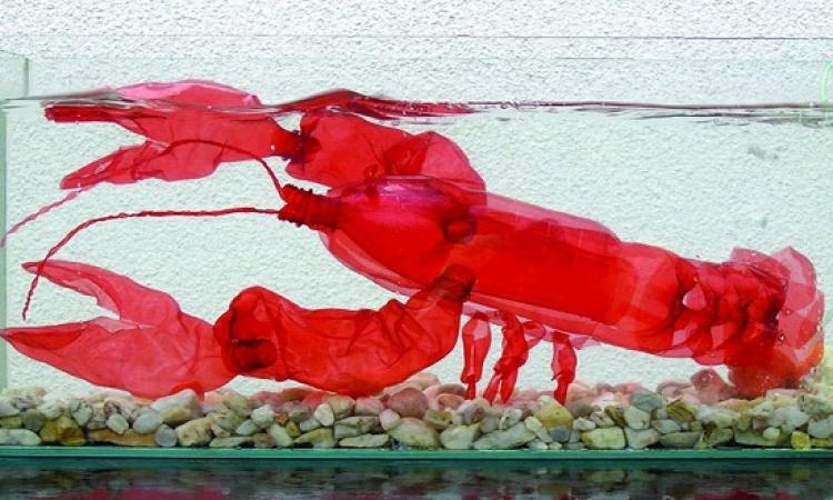 بالصور .. اعادة تدوير البلاستيك ماشى .. بس للدرجة دى صعب !!