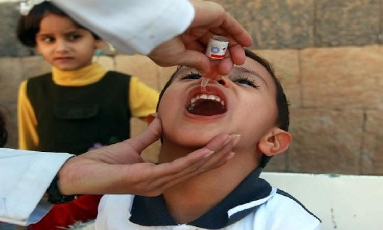 انطلاق الحملة القومية لتطعيم 15.5 مليون طفل ضد شلل الأطفال
