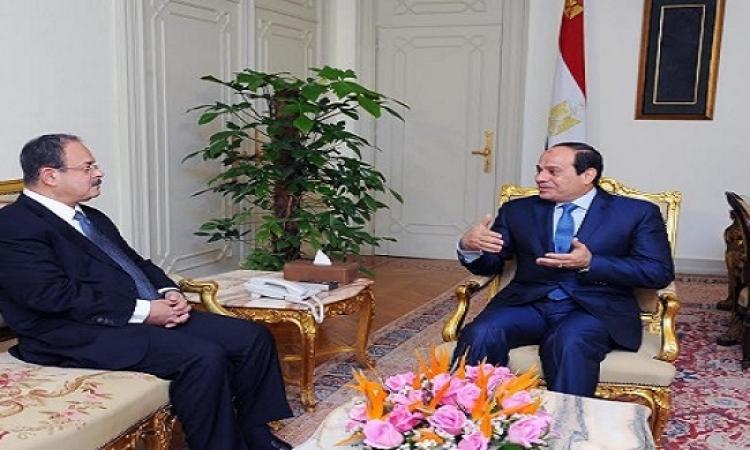 السيسى يطالب وزير الداخلية بتحقيق التوازن بين إرساء الأمن وحقوق المواطنين