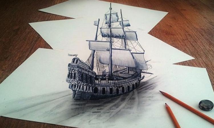 بالفيديو .. تعلم الرسم ثلاثى الأبعاد بواسطة ملعقة