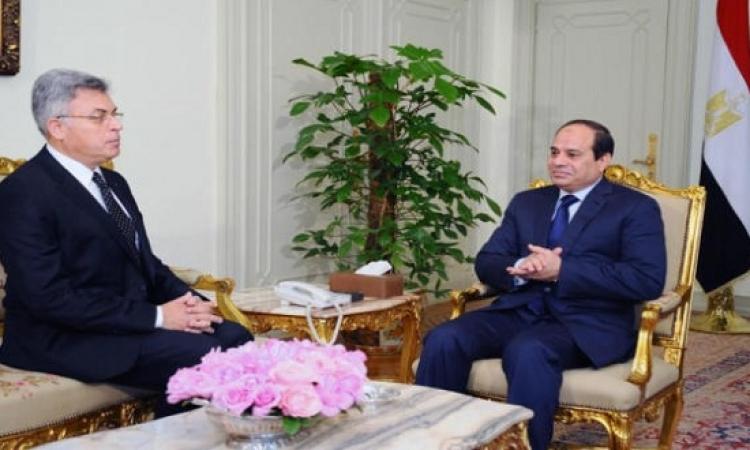 السيسى يكلف عرفان برئاسة هيئة الرقابة الإدارية ويطالبه بالتصدى للفساد