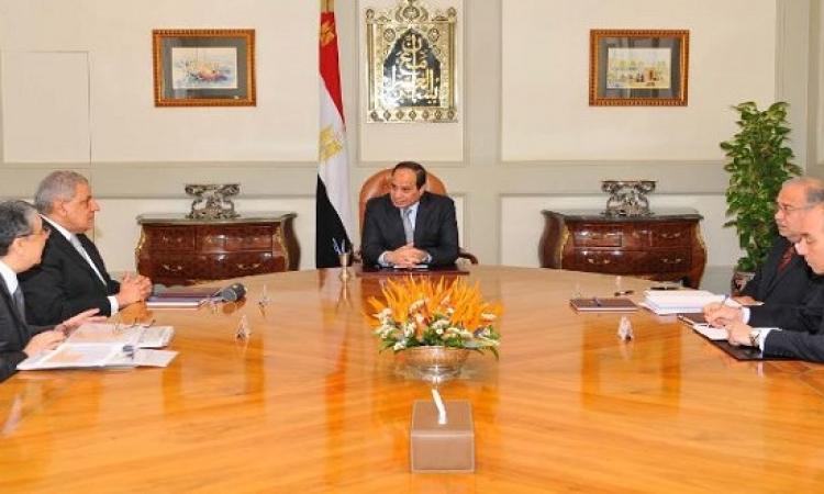 السيسى يطالب الحكومة بالصيانة الدورية لمحطات الكهرباء