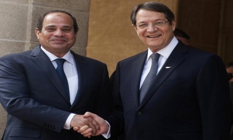 الكلمة الكاملة لرئيس قبرص عن زيارة الرئيس السيسى الأولى لبلاده