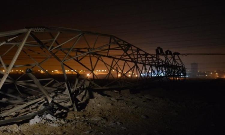 """وزير الكهرباء: خسائر تفجير """"الإنتاج الإعلامى"""" 1.2 مليون جنيه و10 أيام لإصلاح الأبراج"""