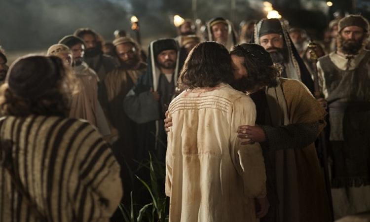 """يهوذا .. الخائن الذى سلم المسيح لليهود .. """"بقبلة""""!!"""