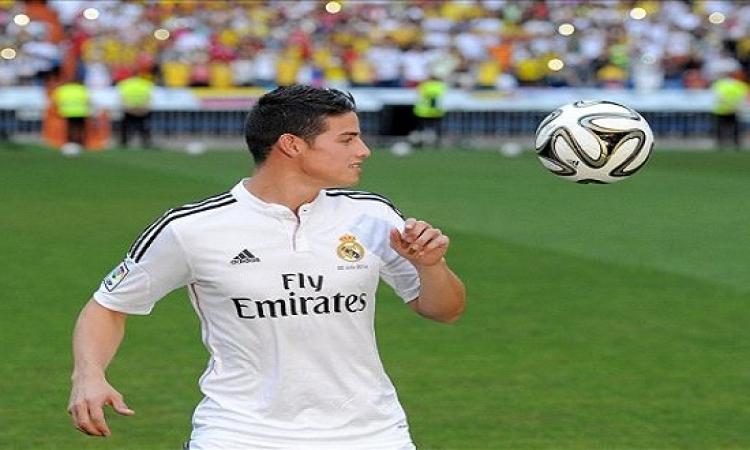 رودريجيز يعود لصفوف ريال مدريد أمام غرناطة بعد غياب شهرين