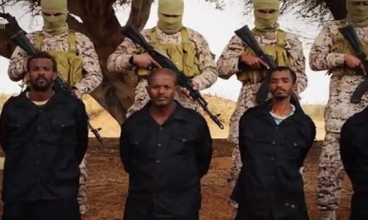 بالصور .. داعش يعدم عشرات الاثيوبيين المسيحيين بليبيا