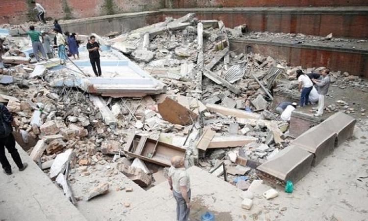 فيديو مذهل للحظة حدوث زلزال نيبال .. وصور تعكس حجم الكارثة