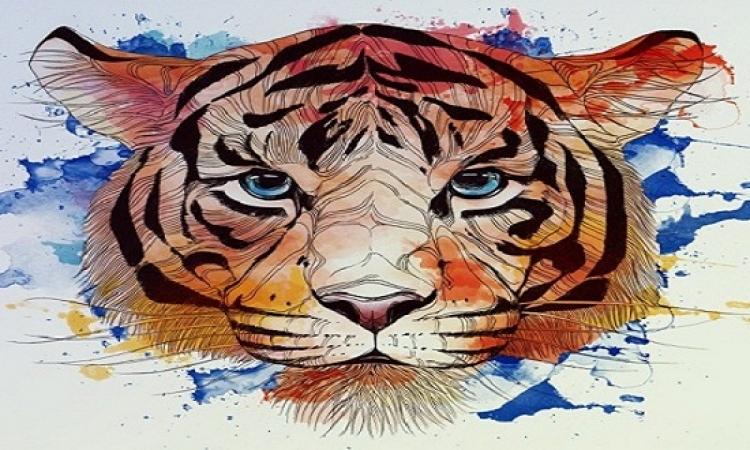 بالصور..الرسم بلمسة فانتازيا الخط الواحد فى عالم الحيوان