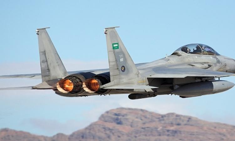 سقوط طائرة تدريب سعودية واستشهاد قائدها والمتدرب