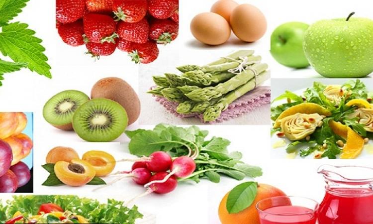 تعرفى على فوائد خضروات وفاكهه الربيع للتخلص من الوزن الزائد