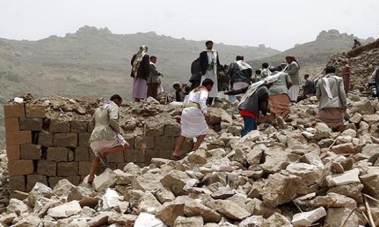 التحالف يواصل قصف تجمعات الحوثيين جنوب اليمن