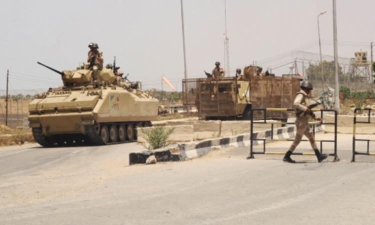 استشهاد 5 مجندين فى هجوم على كمينين أمنيين بالعريش