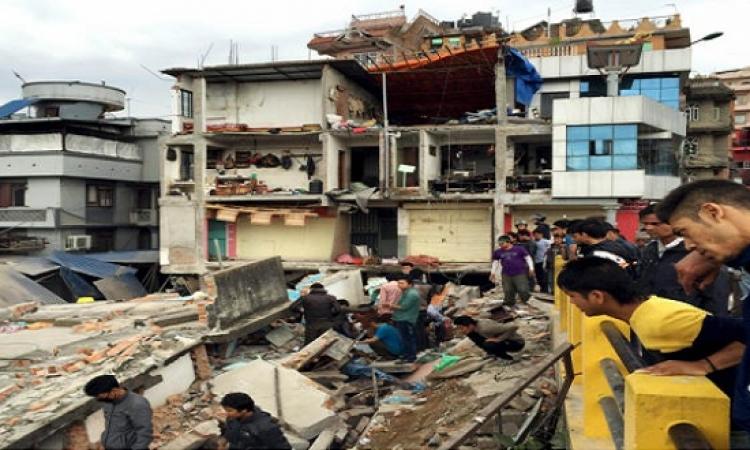 أمريكا تساعد نيبال بفريق إغاثة ومليون دولار