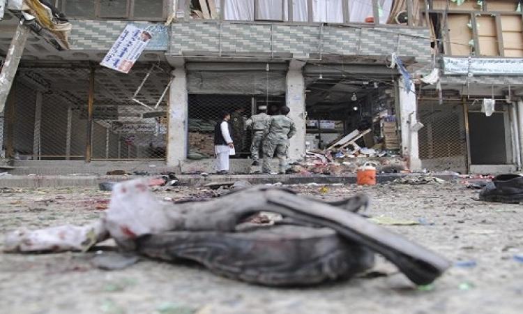 مقتل 33 شخصًا فى هجوم انتحارى شرقى أفغانستان