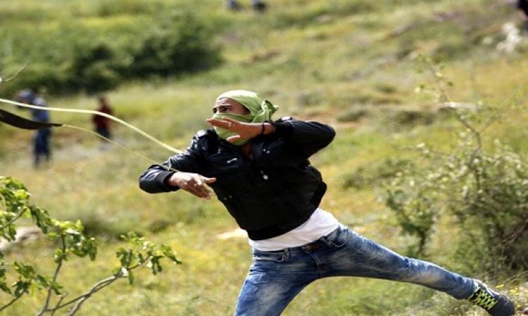 إصابات خلال مواجهات بين الفلسطينيين والجيش الاسرائيلى