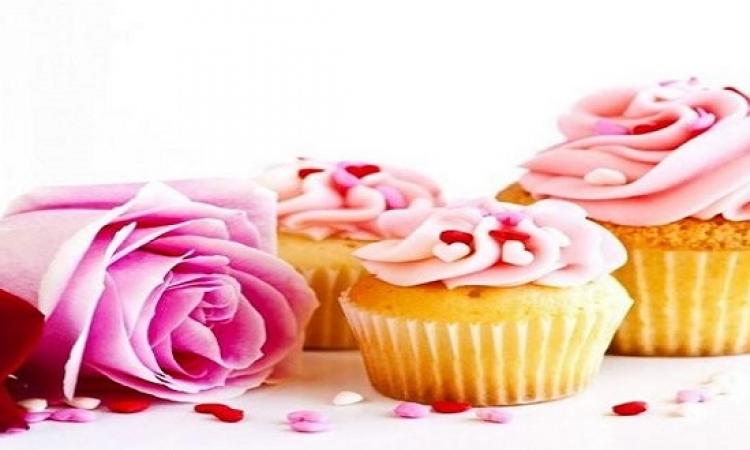 حلو اليوم .. طريقة عمل كعك الفراشة الزهرى