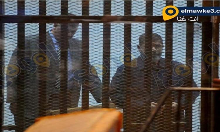 مرسى مصدوم ومتوتر فى السجن