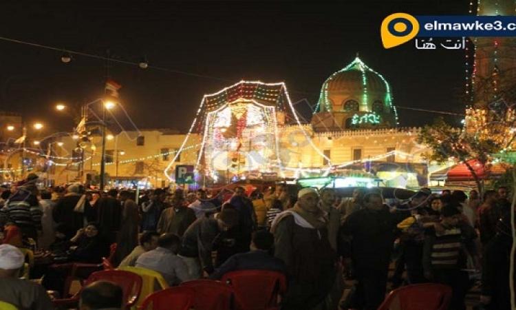 """بالصور ..  مدد يا """"نفيسة العلم"""".. المصريون يحتفلون بمولد السيدة نفيسة"""