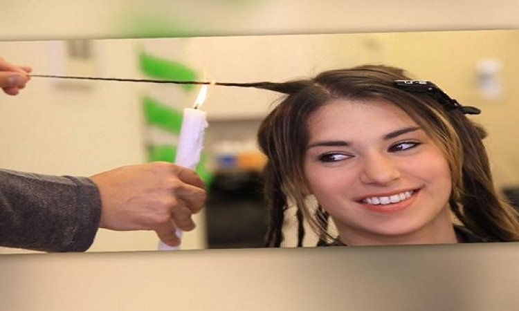 بالفيديو: احرقي شعرك لتقويته!