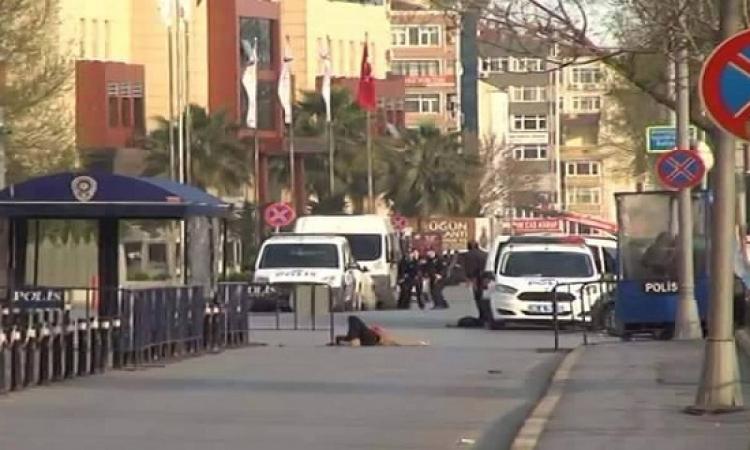مقتل شخص فى اشتباك مسلح امام مقر الشرطة فى اسطنبول