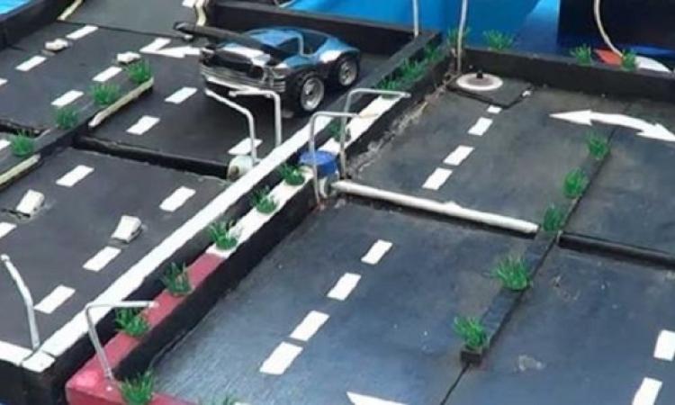 طالب من كفر الشيخ يبتكر طريقة لتوليد الكهرباء من مطبات الشوارع