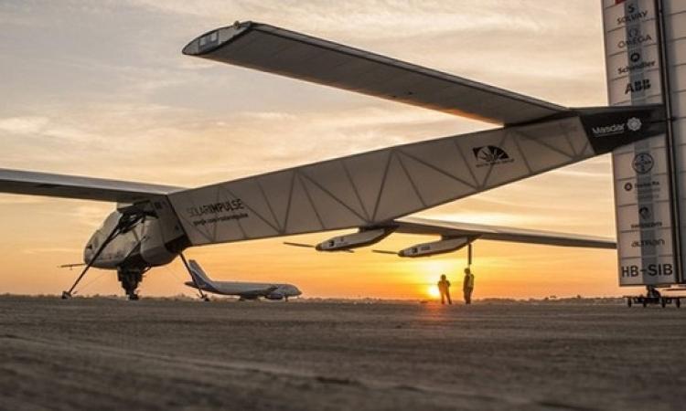 أول طائرة بالطاقة الشمسية في العالم تقلع إلى محطتها السادسة