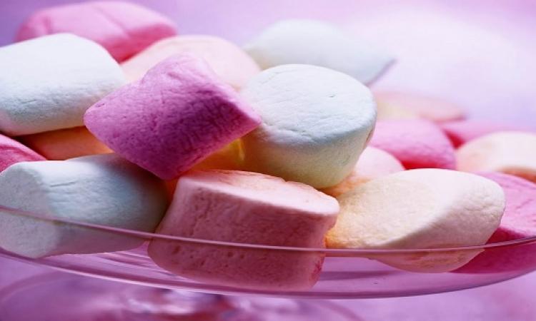 طريقة تحضير حلوى المارشميللو فى المنزل