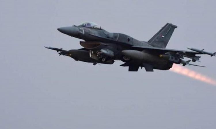 التحالف العربى يقصف مخازن اسلحة الحوثيين شمال صنعاء