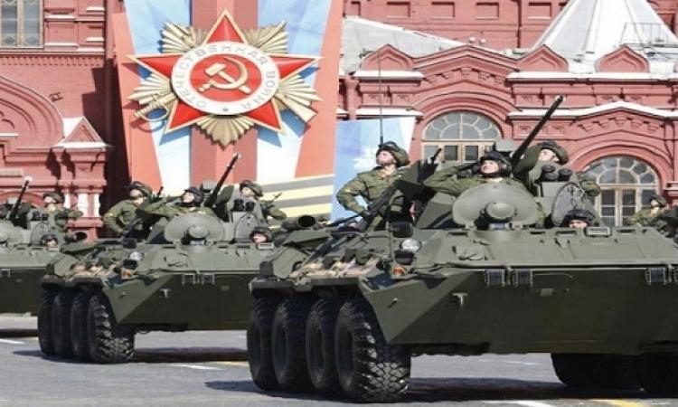 انطلاق احتفالات الذكرى الـ 70 لعيد النصر فى روسيا بحضور السيسى