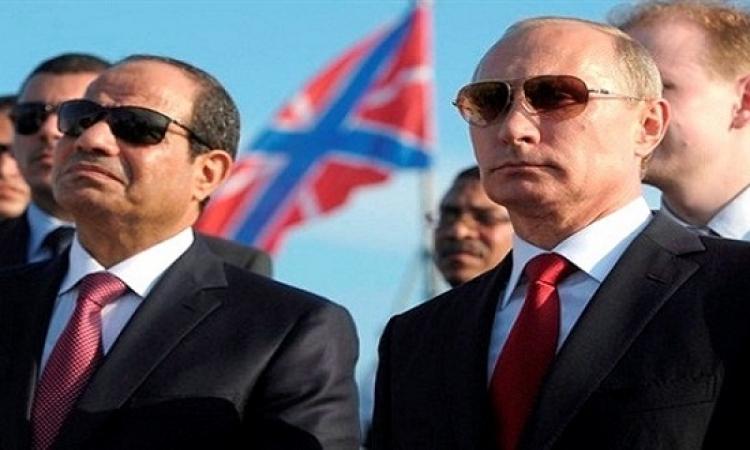السيسي يتوجه إلى موسكو لحضور أعياد النصر