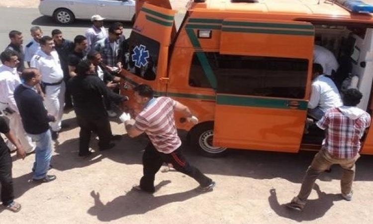 بالصور.. تشييع جثمان أحد قضاة ضحايا حادث شمال سيناء