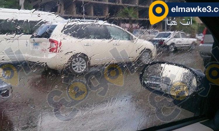 أمطار خفيفة تغسل شوارع القاهرة ورعدية بالإسكندرية